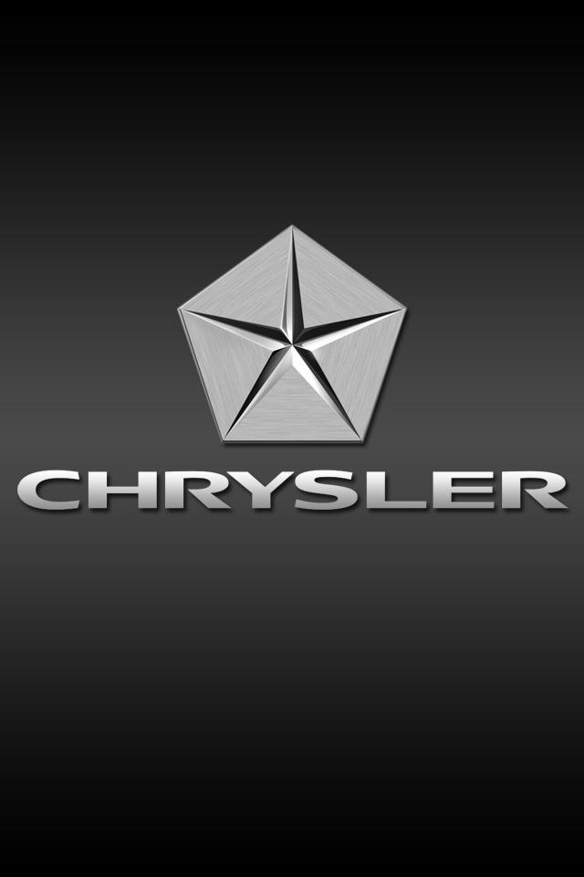 Chrysler Logo iPhone Wallpaper HD 640x960