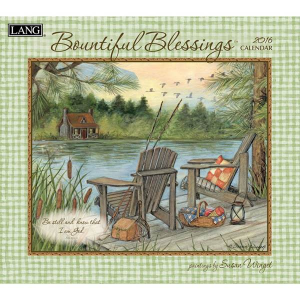 Lang Bountiful Blessings 2015 Wall Calendar at Blains Farm Fleet 600x600