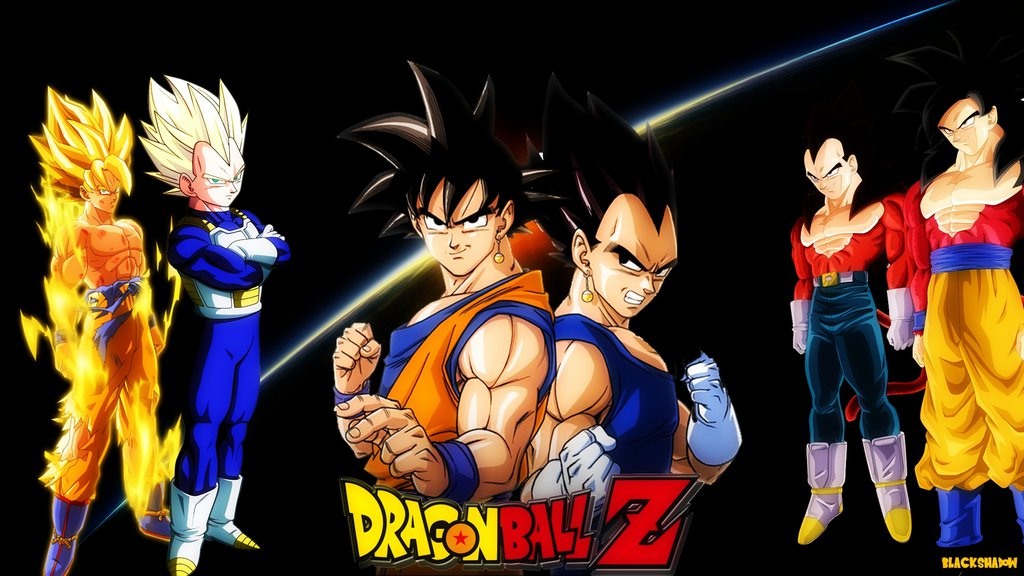 Dragon Ball Goku And Vegeta 1024x576