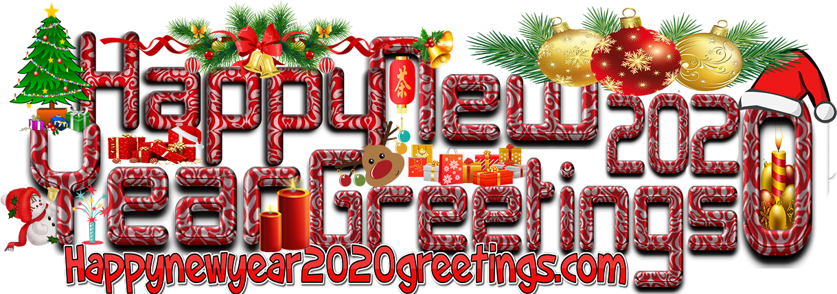 Happy New Year 2020 Colourful HD Wallpapers 4k Download   New 1219x429