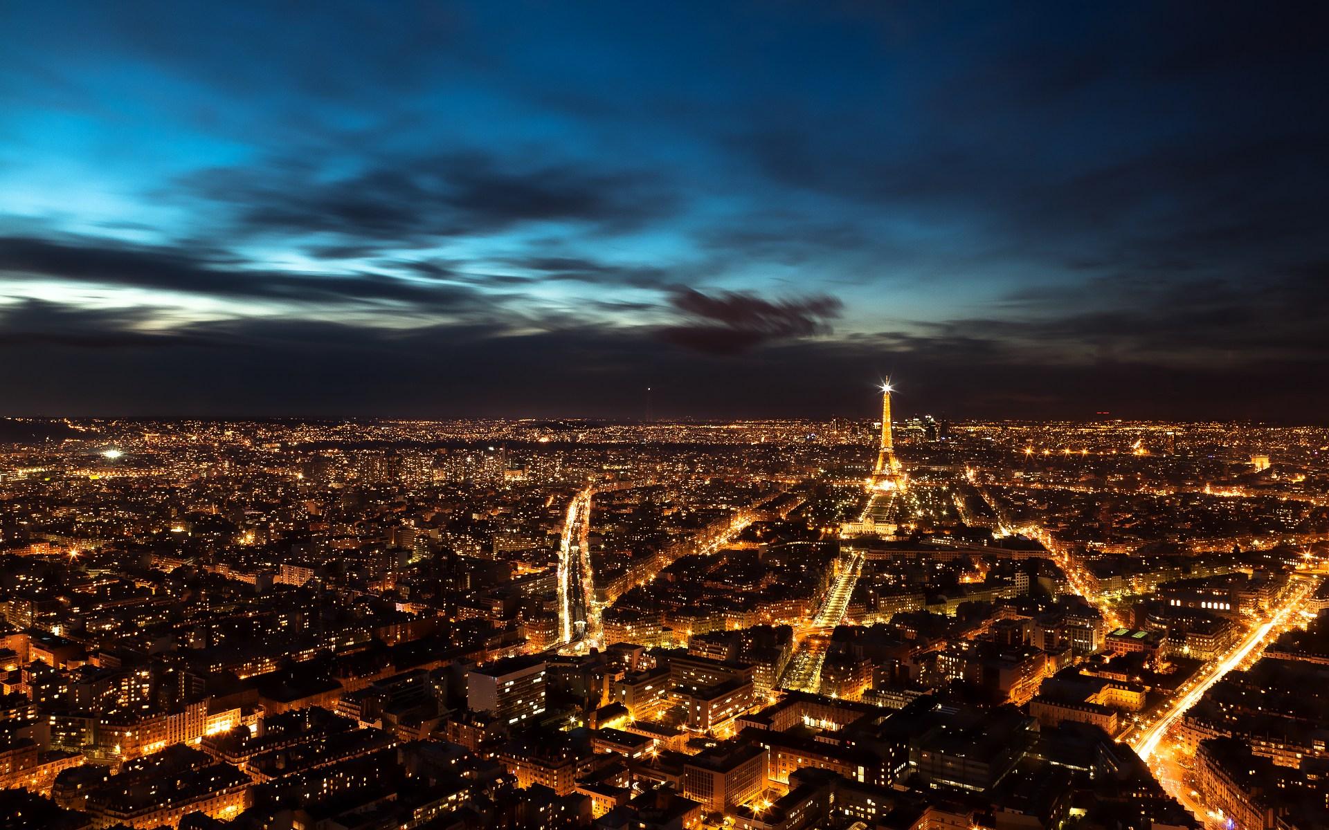 Hd wallpaper paris - Paris Night Sky Hd Wallpaper Theme Bin Customization Hd