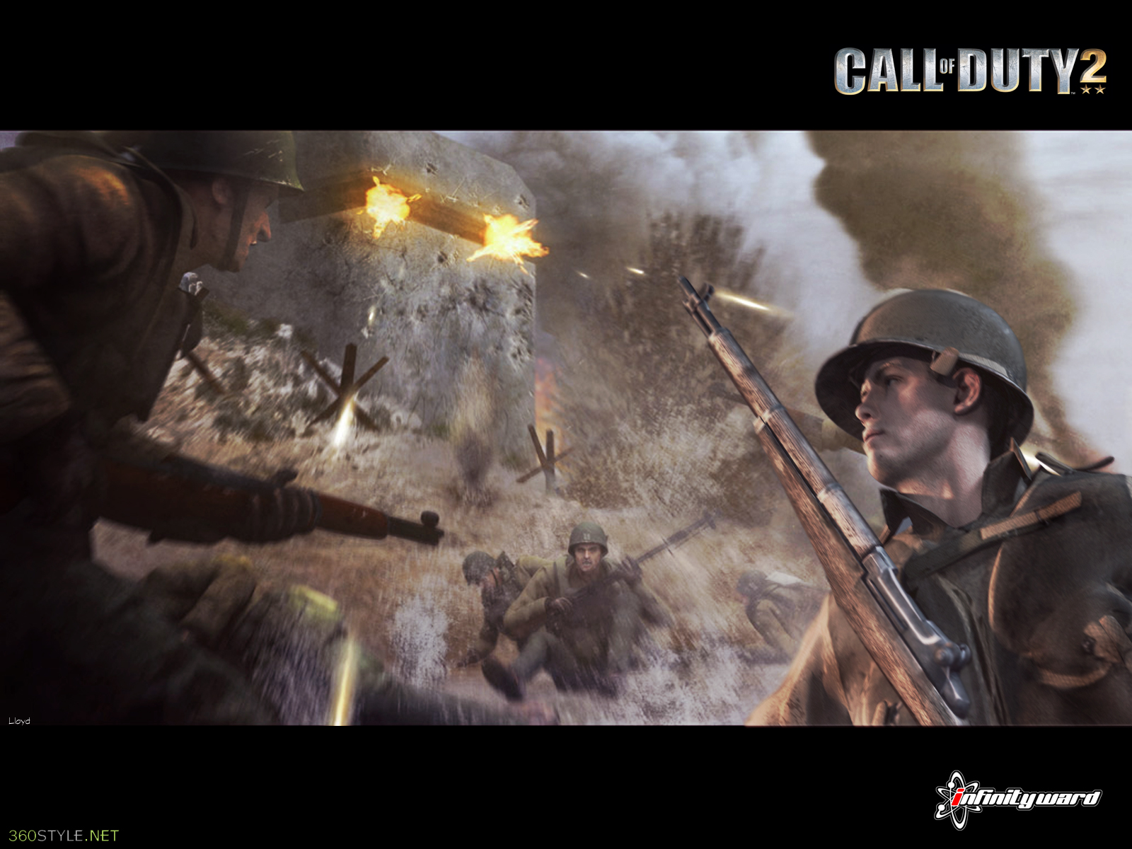 download Call of Duty 2 Wallpaper by igotgame1075 [1600x1200 1600x1200