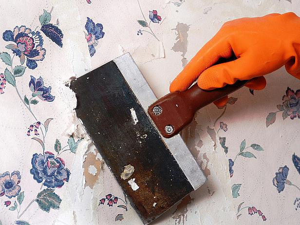 Wallpaper Removal How To Build A House 616x462
