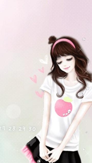 cute girl 10 wallpaper for mobile phone cute girl 10 wallpaper 360x640