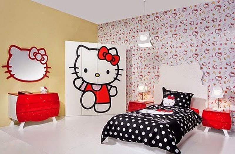 Free download Contoh gambar wallpaper dinding hello kitty