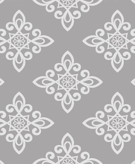 Lattice Wallpaper: Gray Lattice Wallpaper
