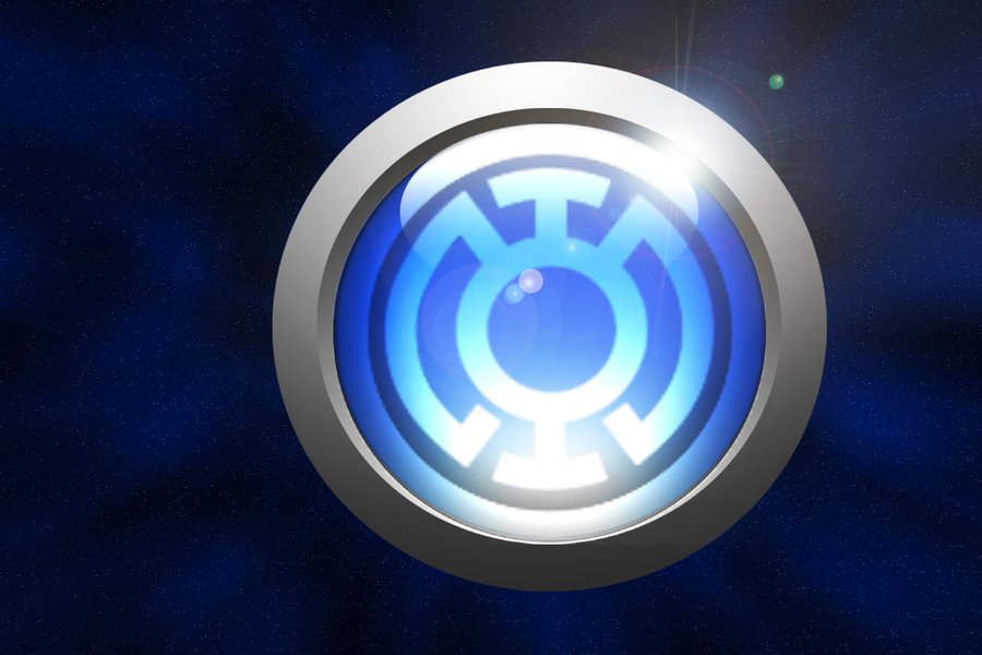 DeviantArt More Like Blue Lantern Corps Ring by ParadoxalOrder 900x600