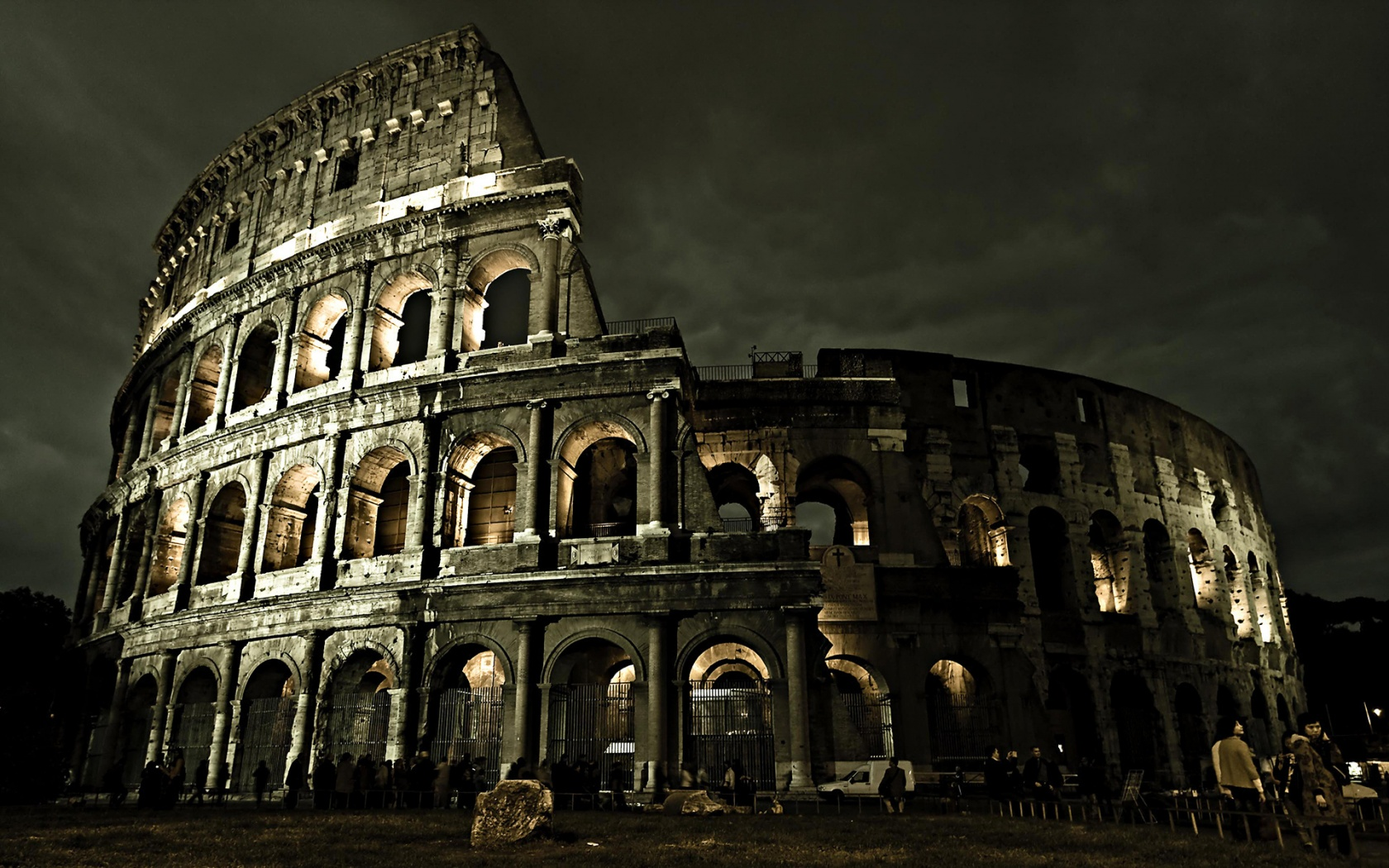 Colosseum Roman Architecture Wallpapers HD Wallpapers 1680x1050