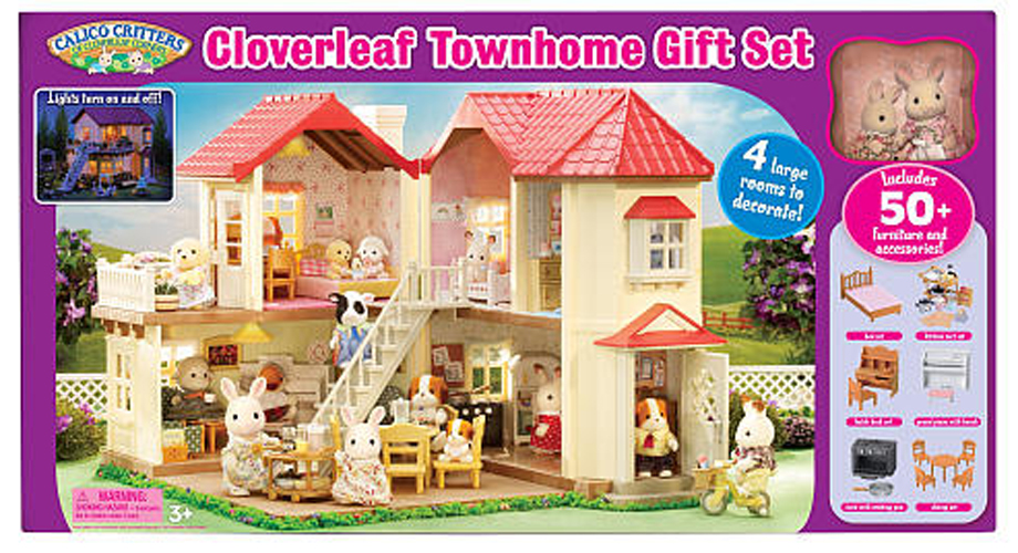 CALICO CRITTERS CC2066 Luxury Townhome Gift Set   Townhouse   New 920x500
