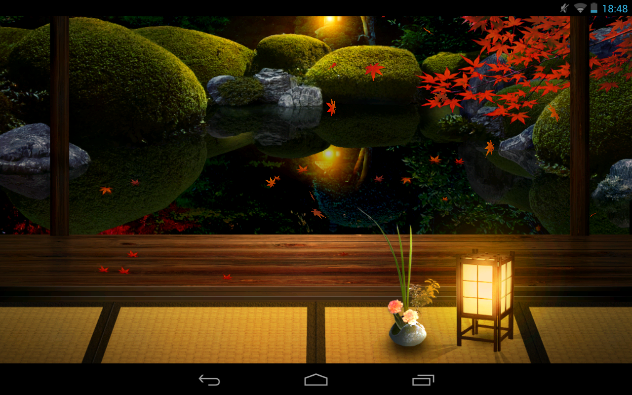 Zen Garden  Fall  LW   Android Apps on Google Play 1280x800