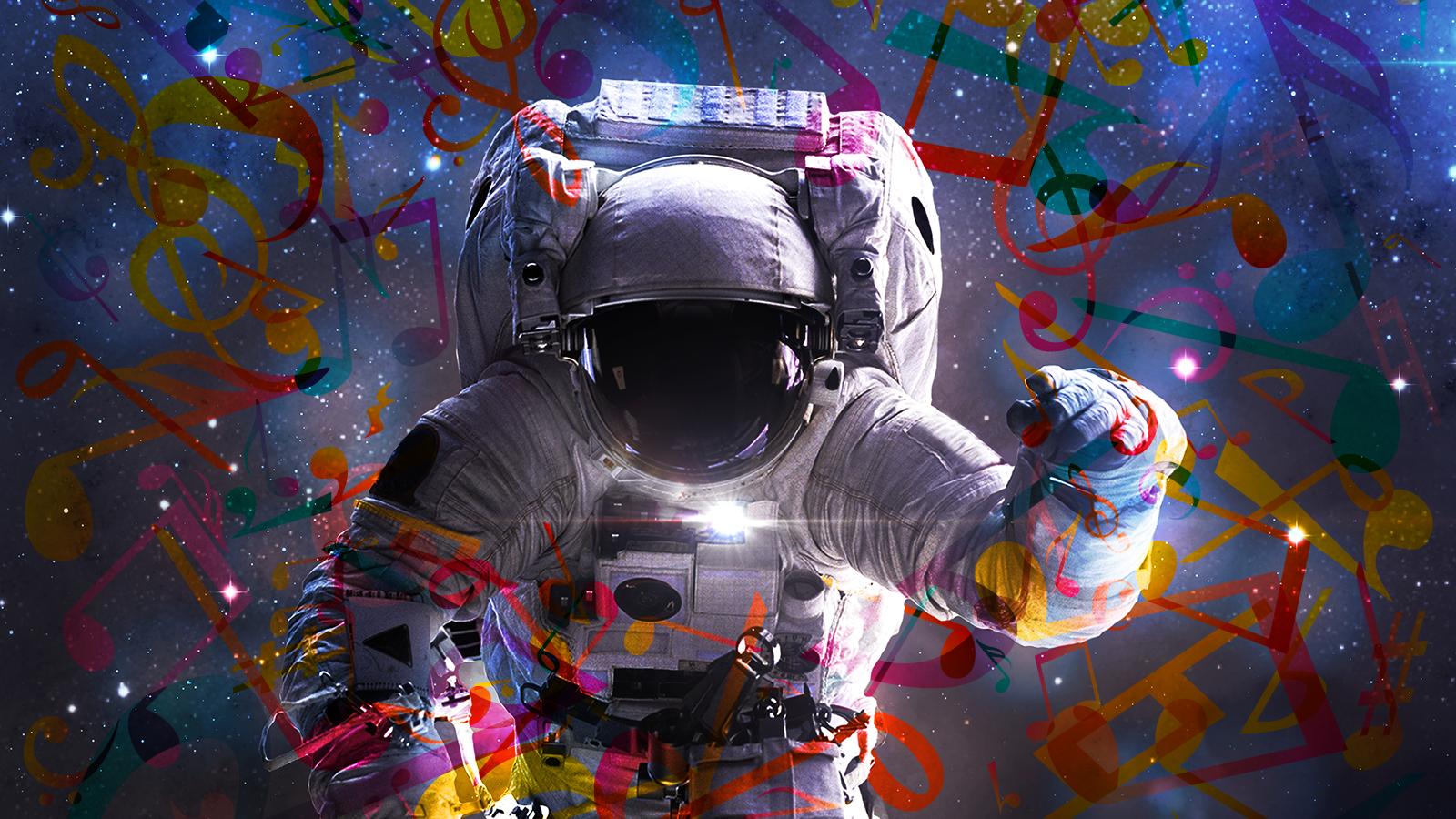 Psychedelic Astronaut wwwpixsharkcom   Images 1600x900
