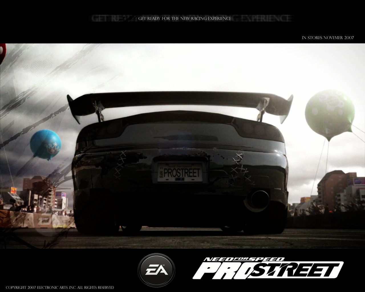 NFS Pro Street Wallpaper by blackriderrom 1280x1024
