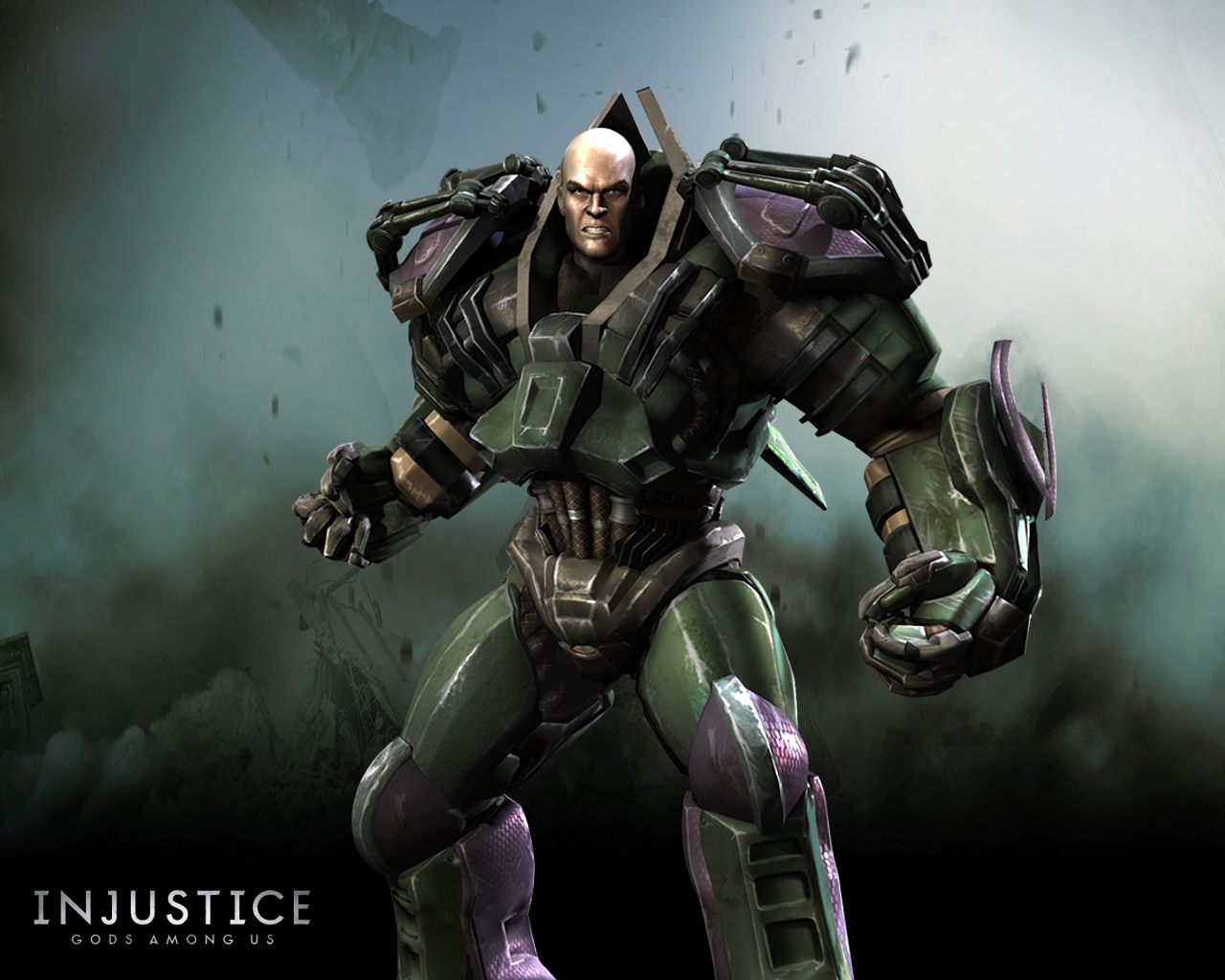 Lex Luthor Symbol Injustice 54102 Trendnet