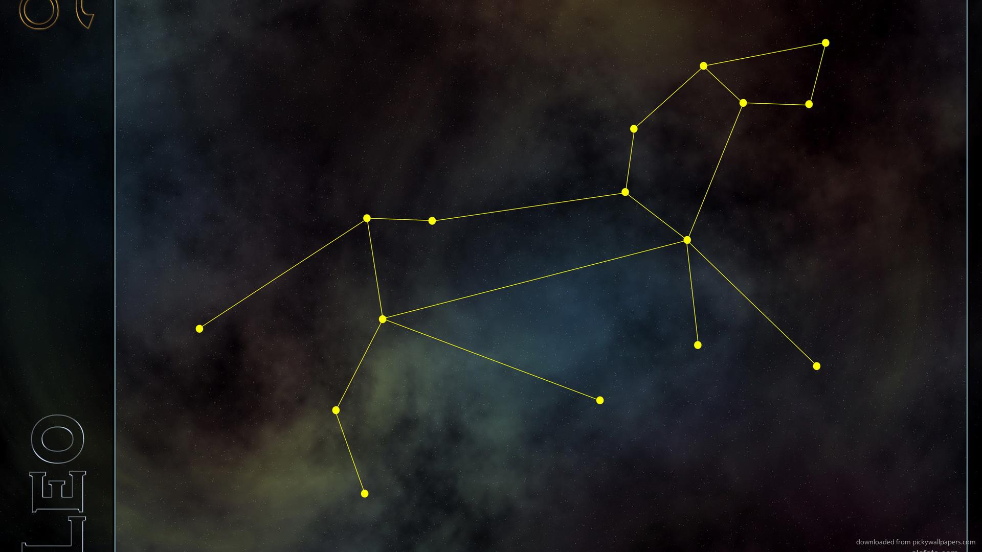 HD Leo Constellation Wallpaper 1920x1080