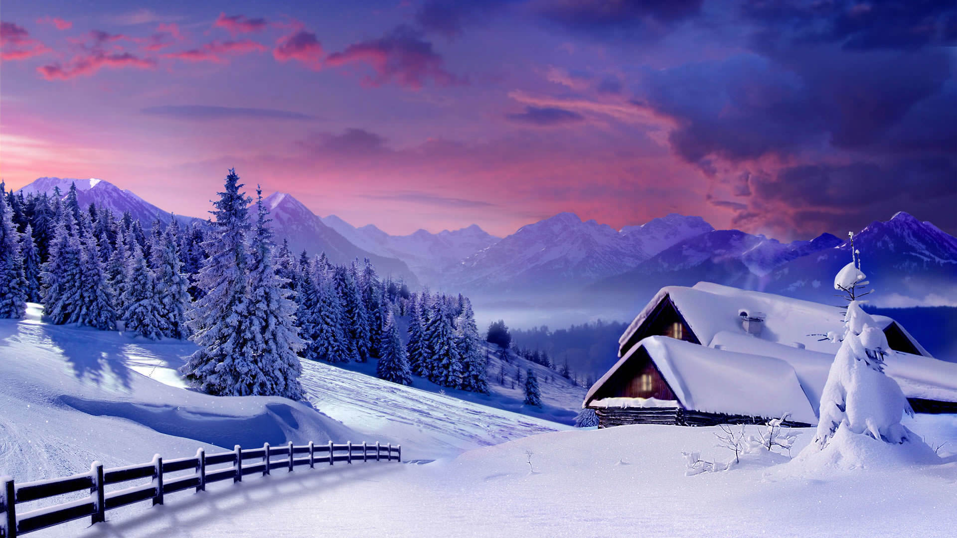 Beautiful Winter Wallpaper 1920x1080 1920x1080