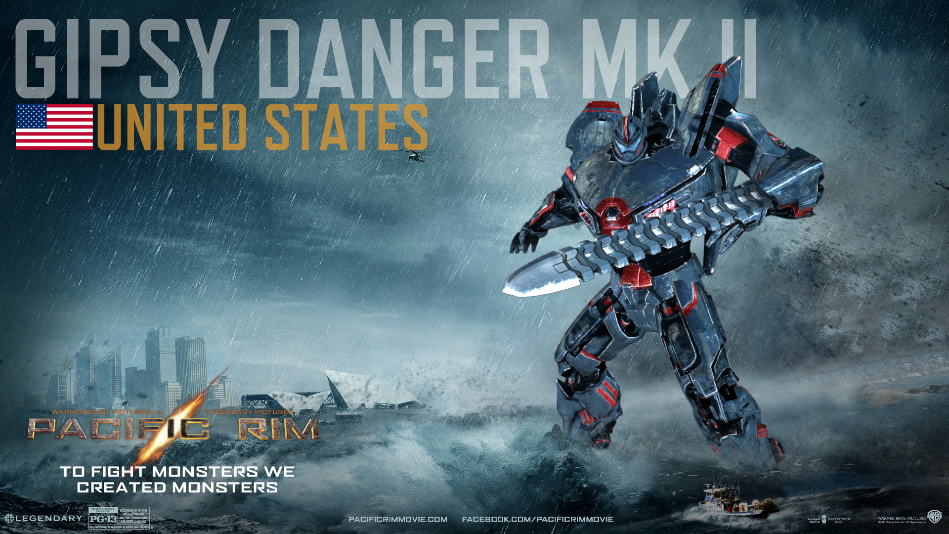 Gypsy Danger Wallpaper - WallpaperSafari Pacific Rim Jaeger Gypsy Danger Wallpaper
