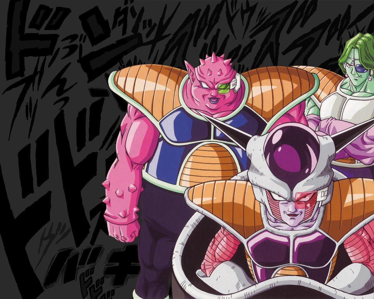 Dragon Ball Z Frieza Dodoria Zarbon Wallpapers HD Desktop and 1280x1024