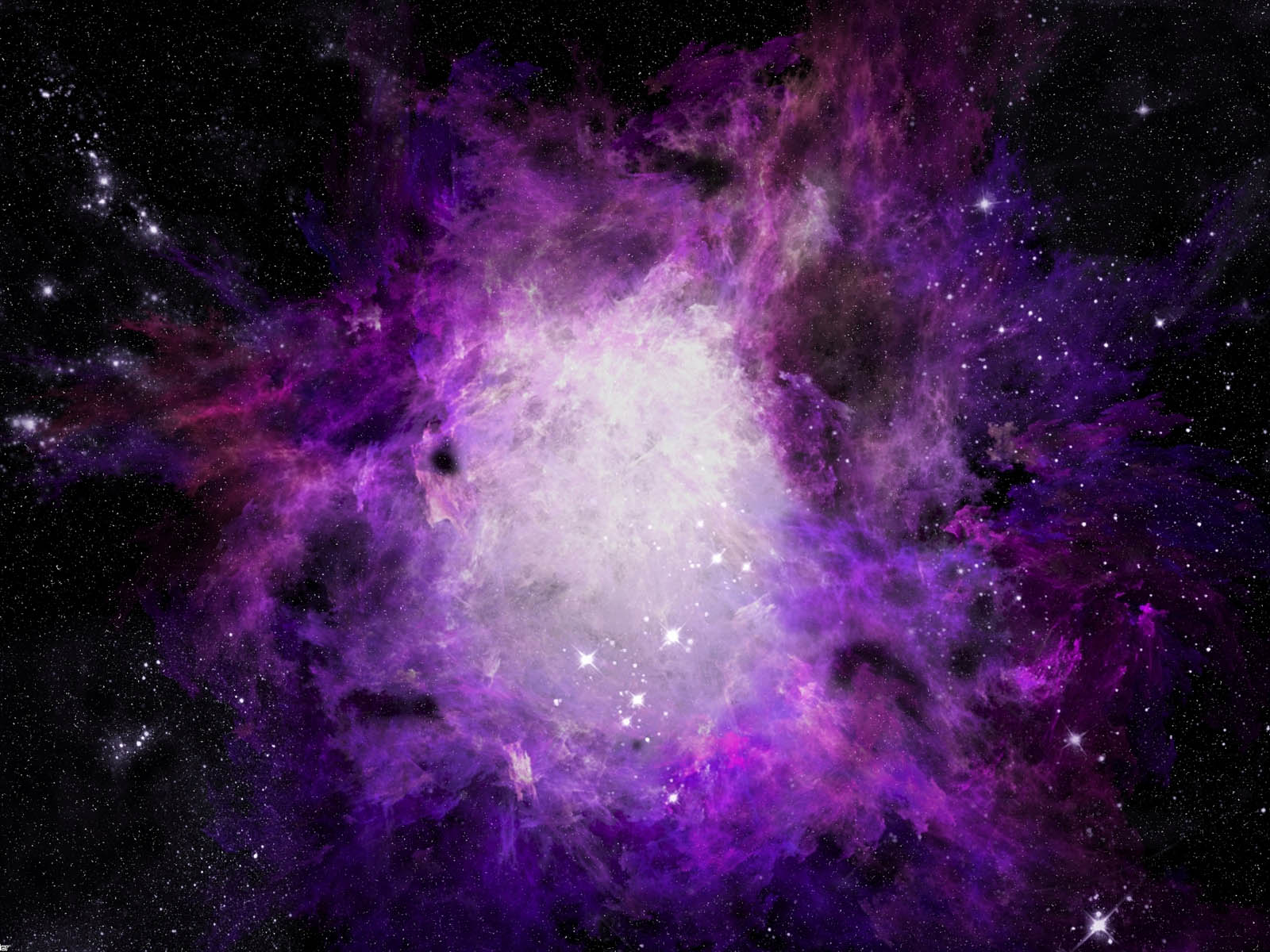 wallpapers Crab Nebula 1600x1200