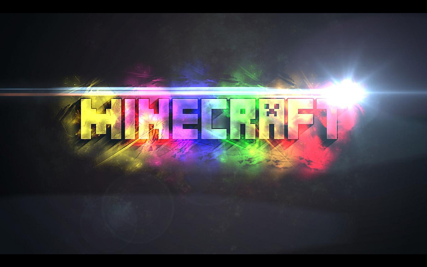 Minecraft Wallpaper Minecraft colorful name   Minecraft wallpapers 1440x900