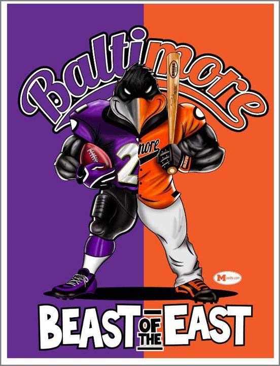 ravens and orioles wallpaper