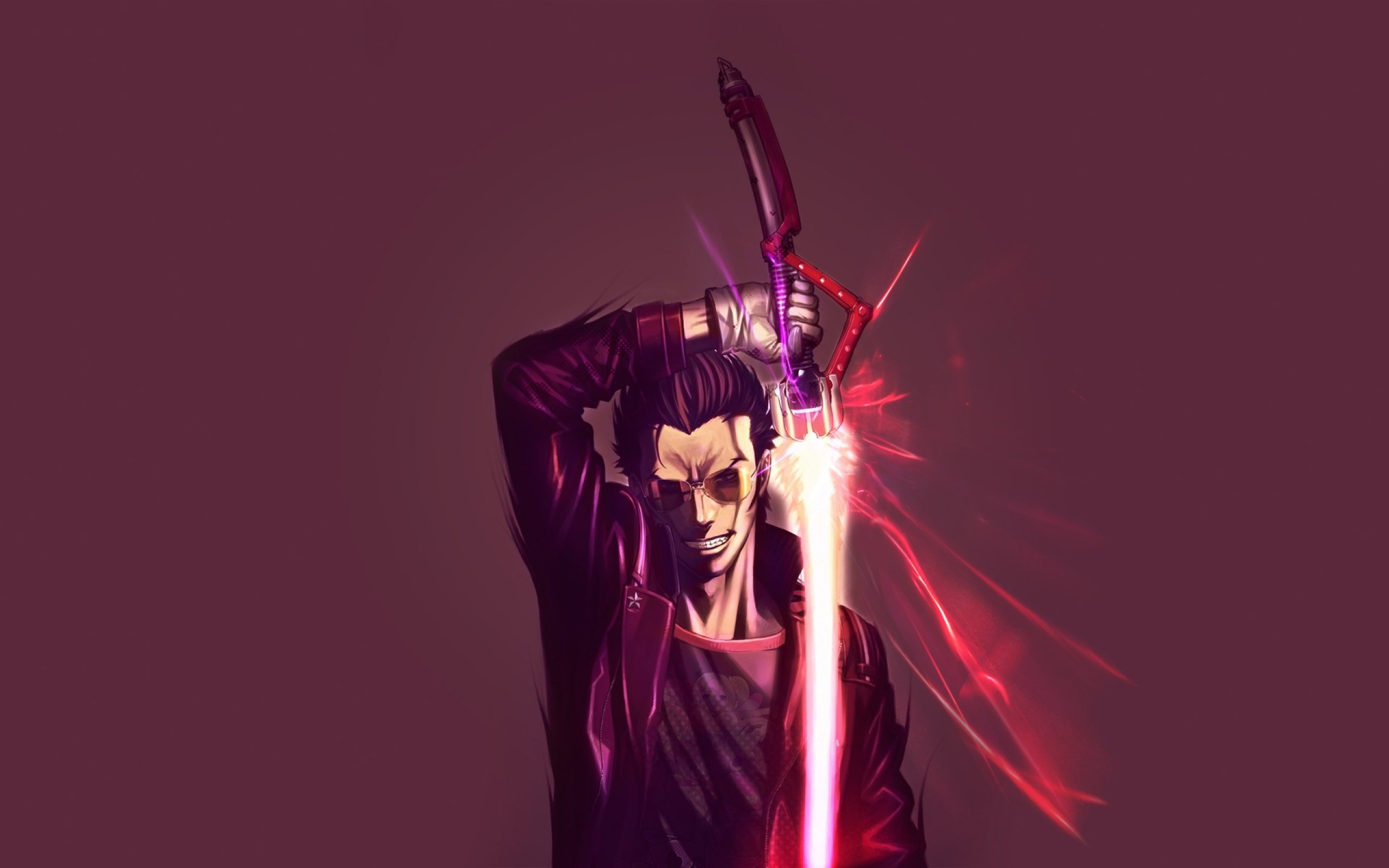 Travis Touchdown from No More Heroes [2560x1600] wallpapers 2560x1600