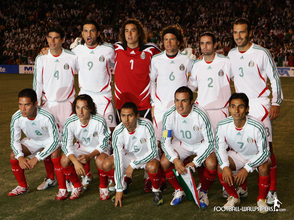 Free Download Mexico National Team Wallpaper 1024x768 For Your