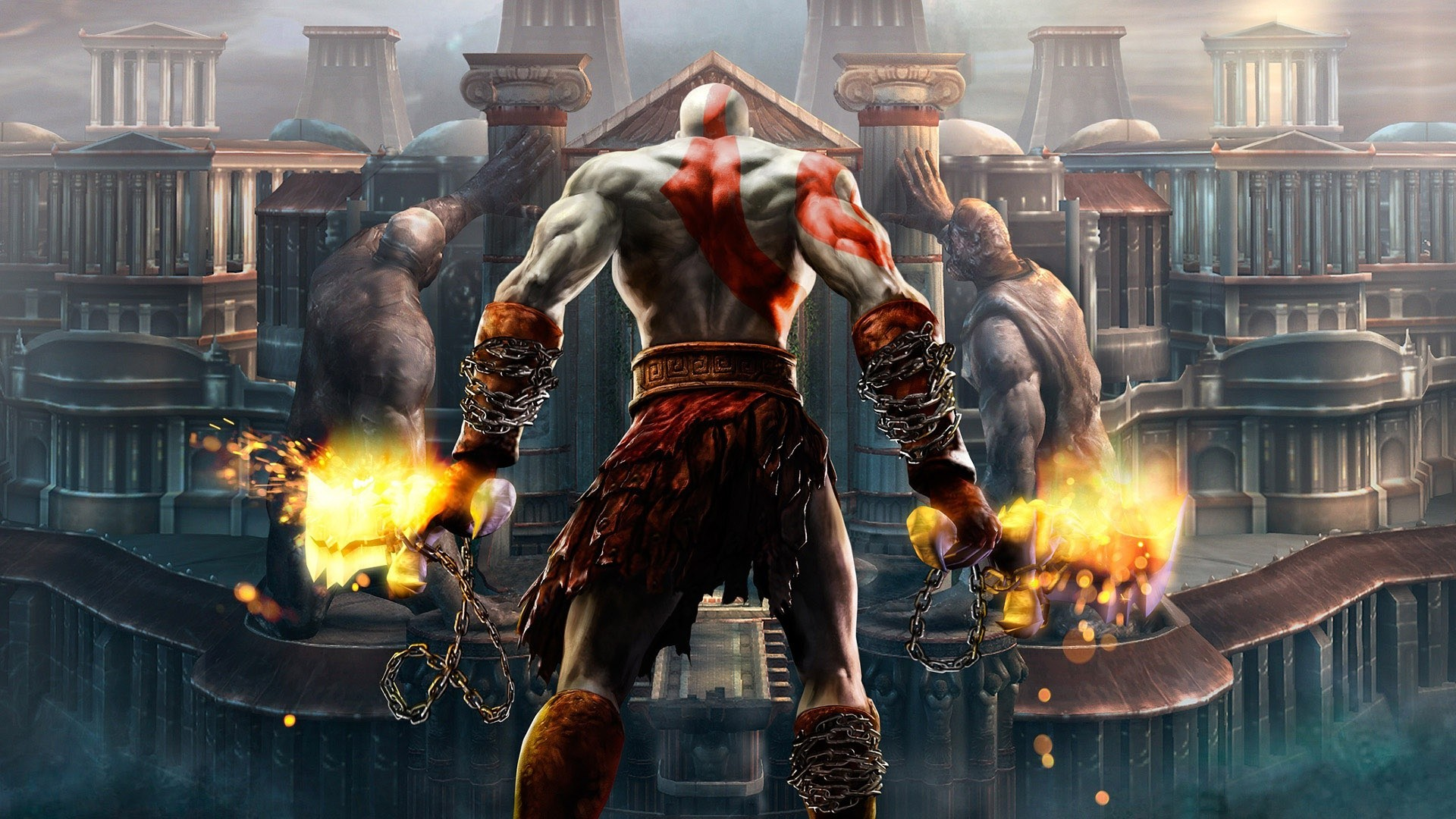Kratos god of war wallpaper Wallpaper Wide HD 1920x1080