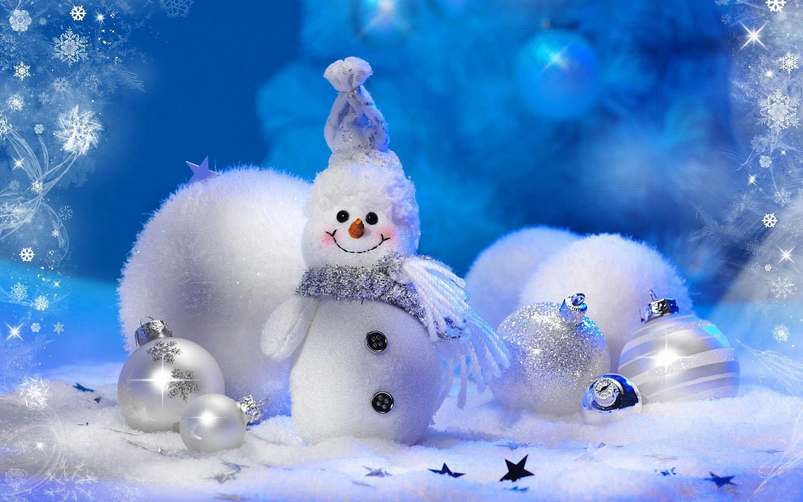 wallpapers Snowman Wallpapers 1600x1000