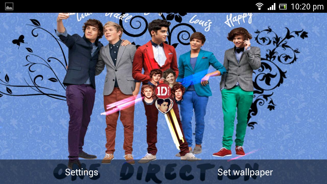 One Direction Live wallpaper   screenshot 1280x720