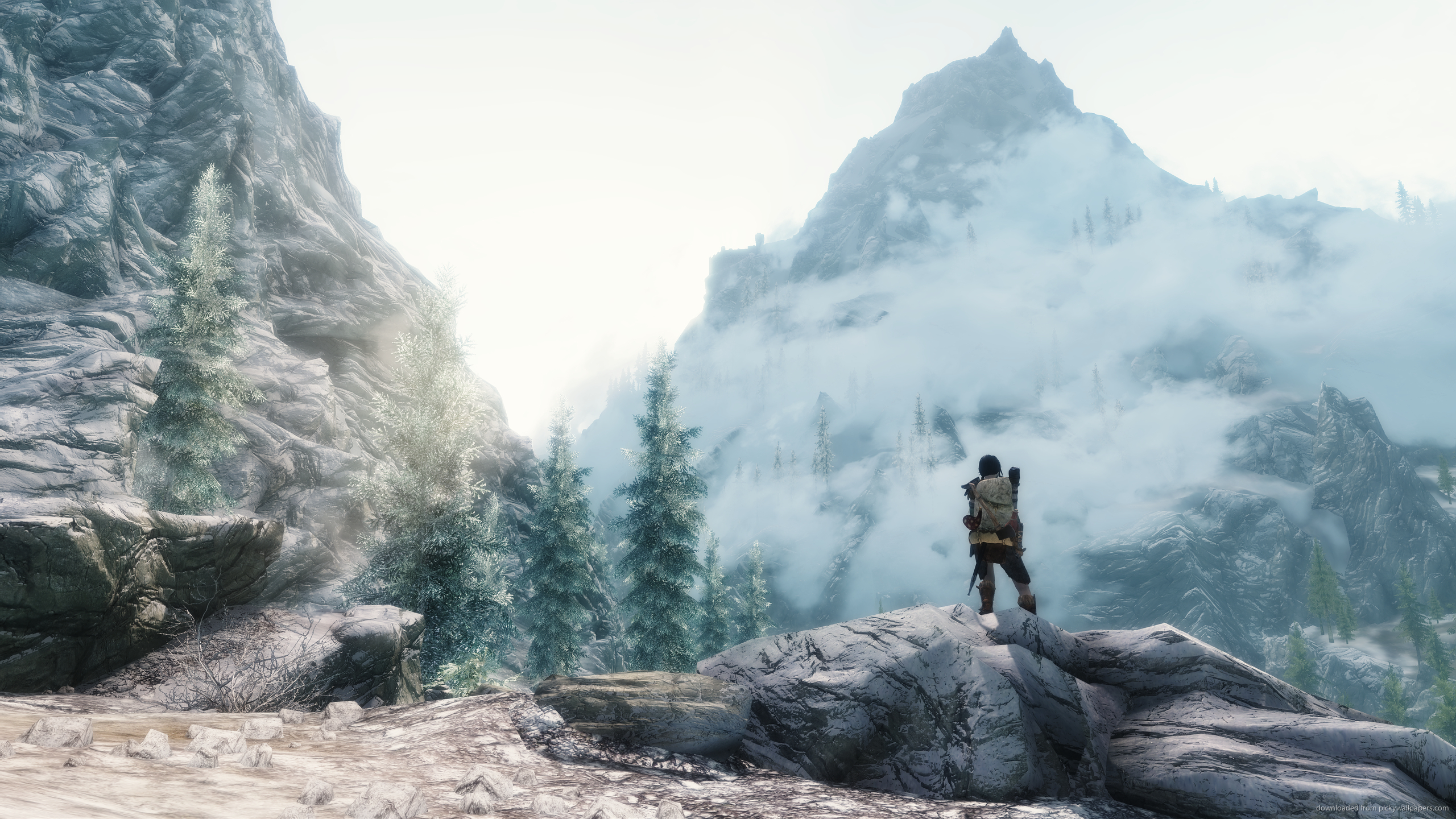 2560x1440 Wallpaper Skyrim Link to this wallpaper skyrim 2560x1440