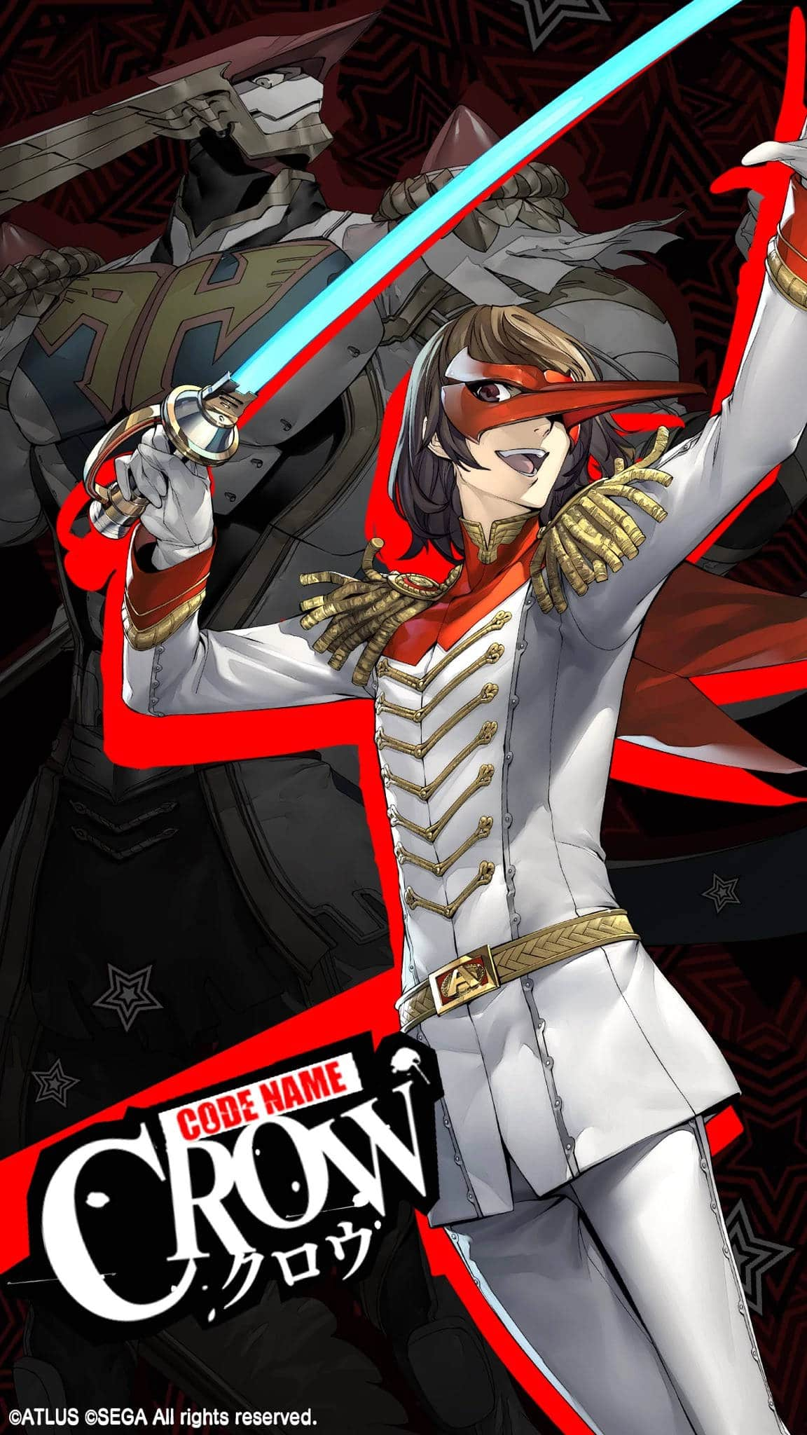 Official Persona 5 Crow Artwork Was Probably Not Supposed to Have 1152x2048