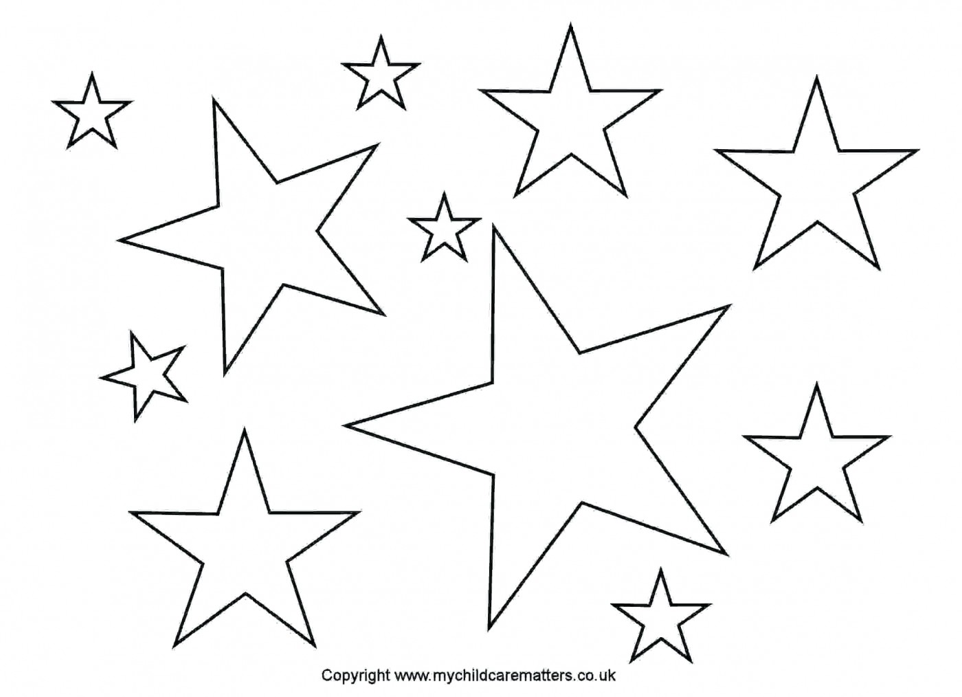 005 Stars Outlines Printables Star Outline Images Greeting Cards 1400x1014