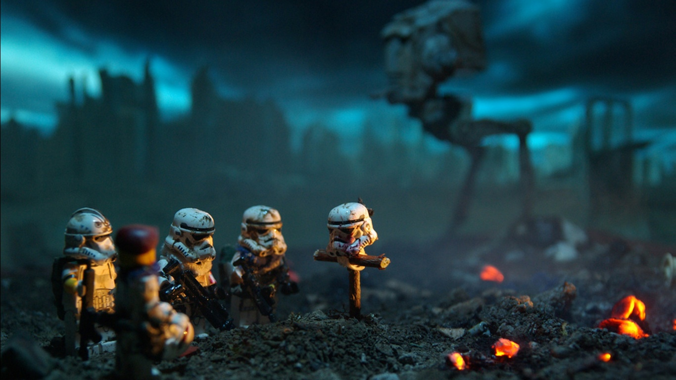 Lego Star Wars Stormtroopers Wallpapers HD Wallpapers 1366x768