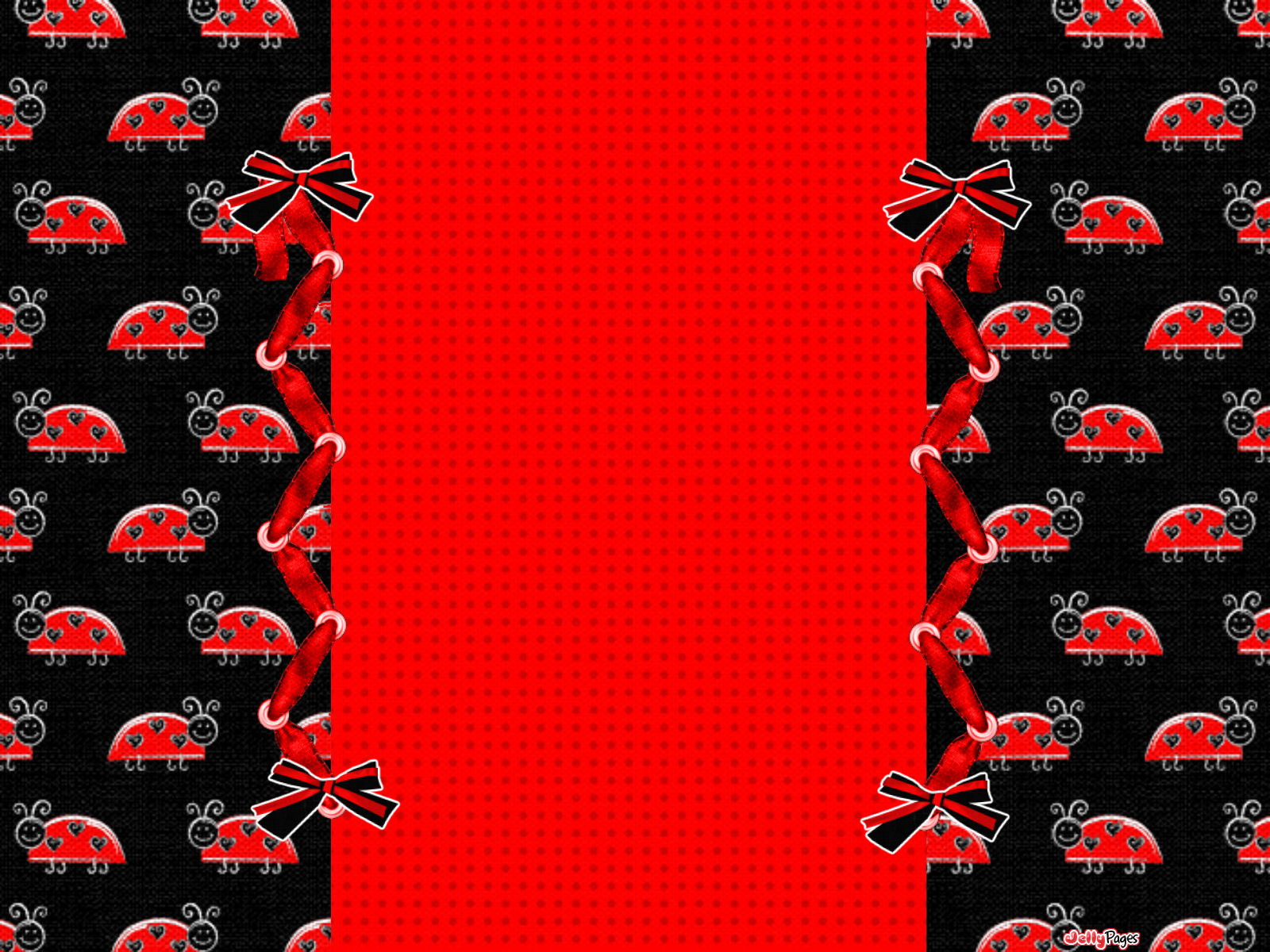 ladybug pattern wallpaper for desktop wallpapersafari