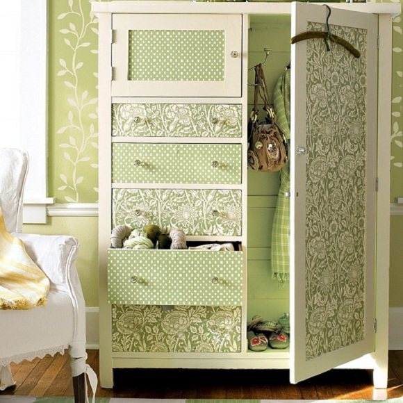 wallpaper for cabinet doors 580x580