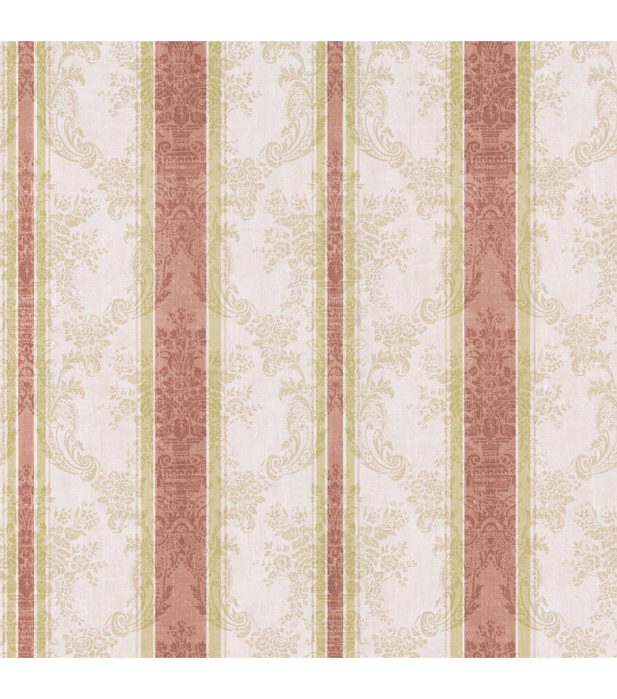 Free Download Striped Floral Damask Wallpaper Beige Sample Jo Ann