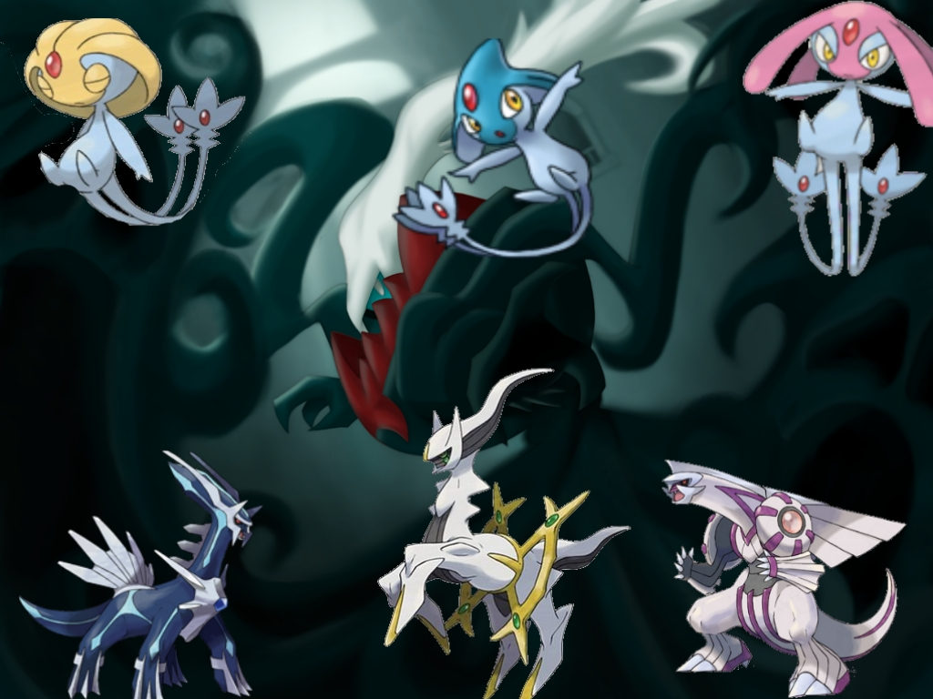 legendary pokemon Pokemon wallpaper 1024x768