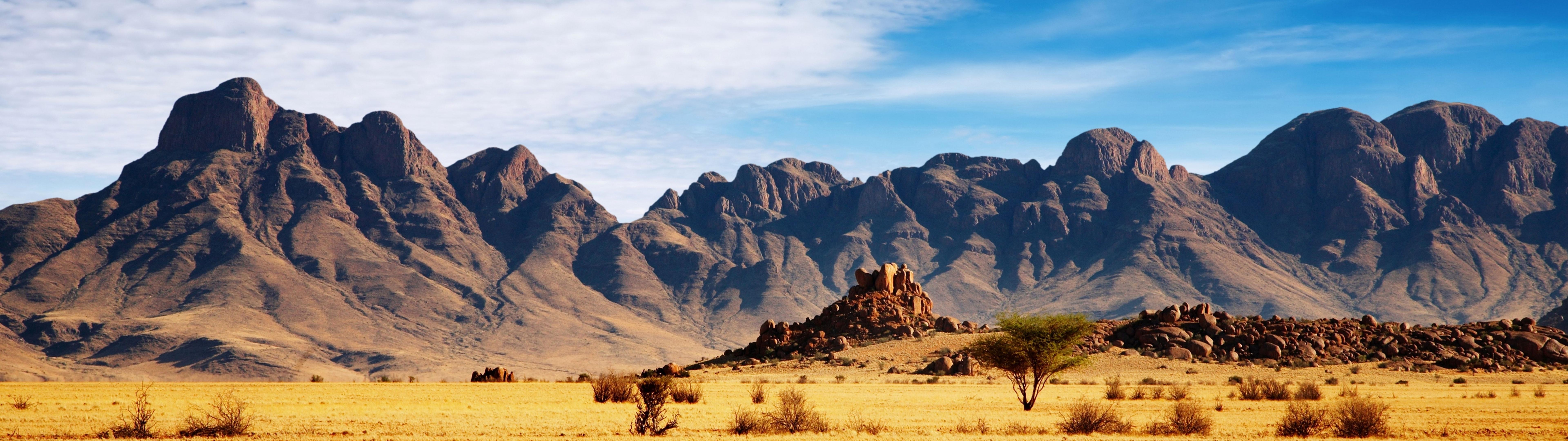 Desert Mountains Desktop Background Wallpaper Download 7680x2160