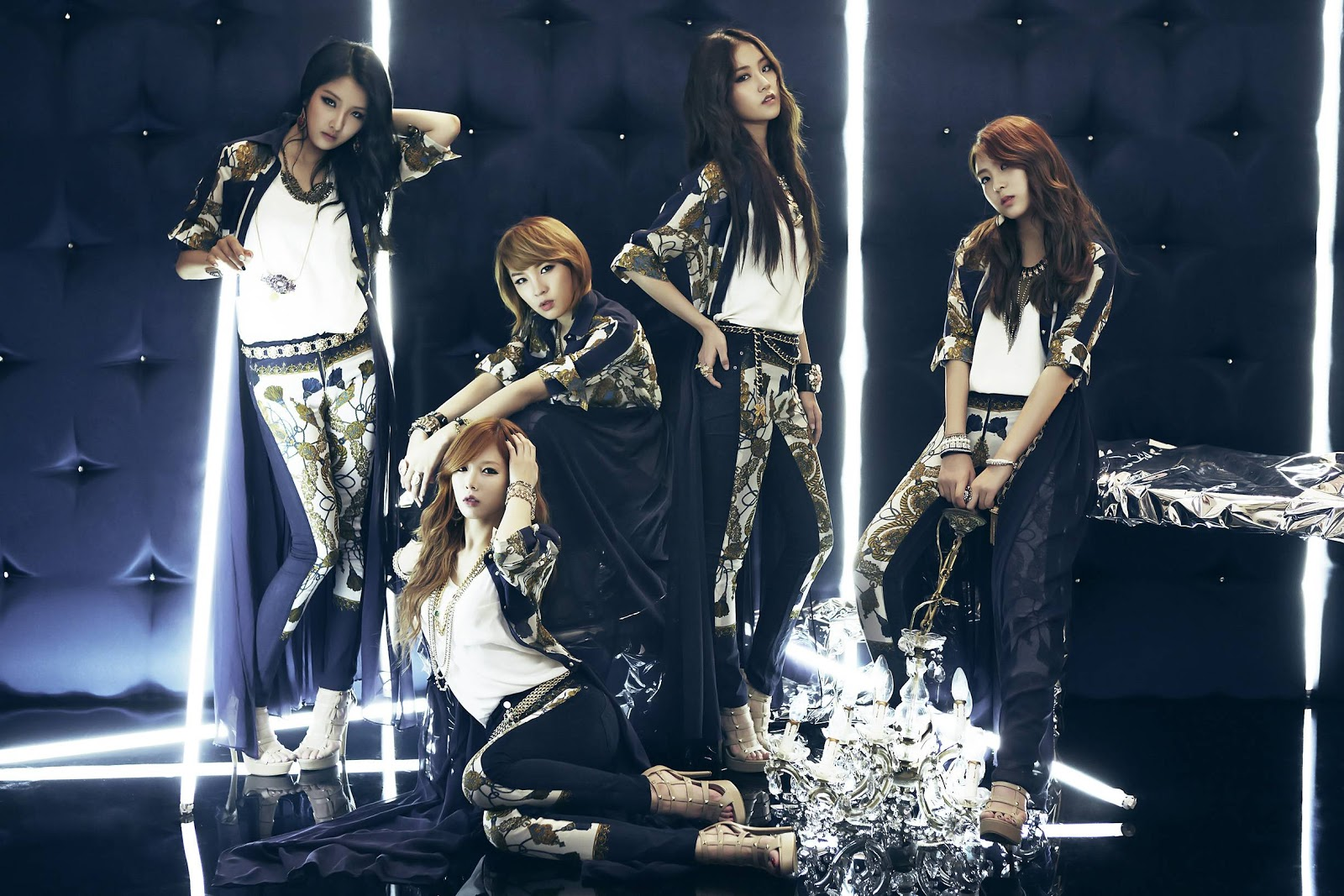 4Minute Love Tension Concept Pictures amp Wallpaper 1600x1067
