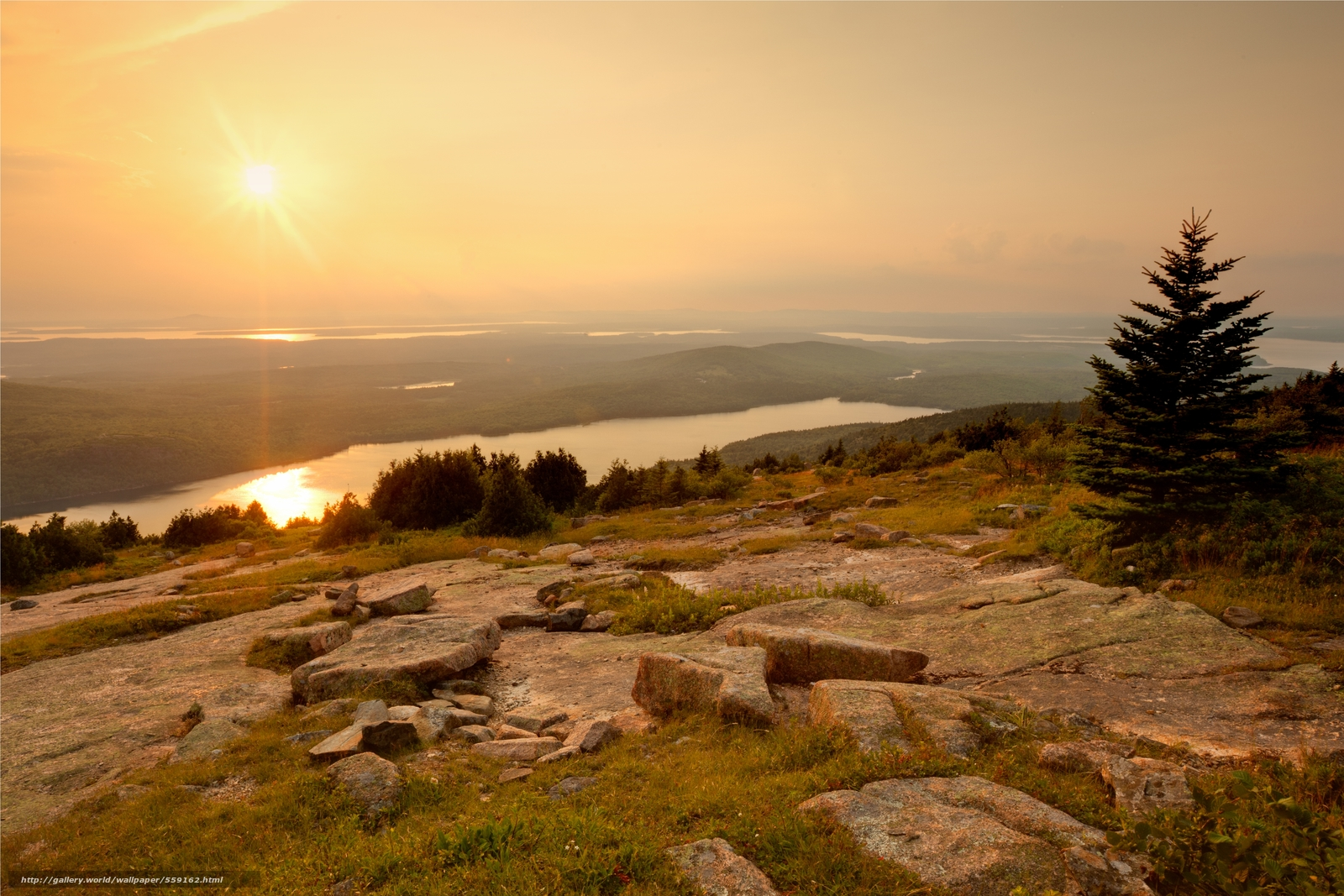 wallpaper Acadia National Park Maine USA desktop wallpaper 1600x1067