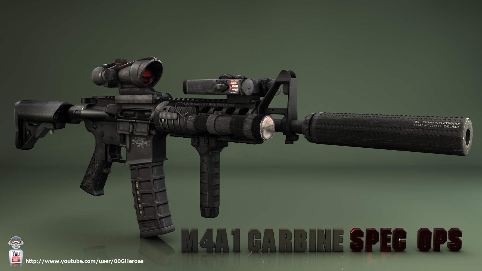 M4a1 Wallpaper - WallpaperSafari