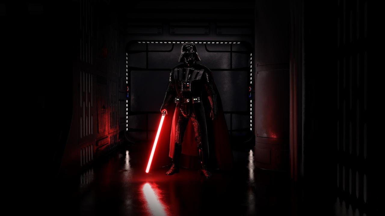 Star Wars Battlefront Darth Vader Wallpaper Desktop Background 1280x720