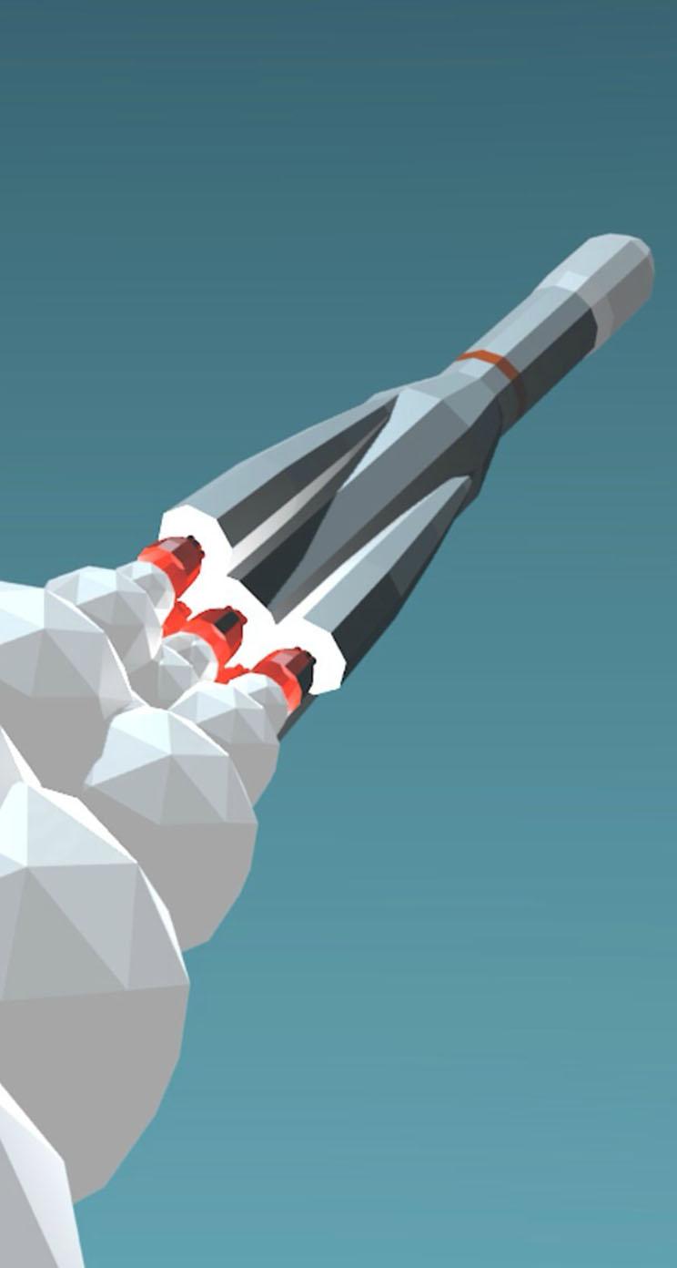 low poly rocket iphone wallpaper tags art blast off low poly rocket 744x1392