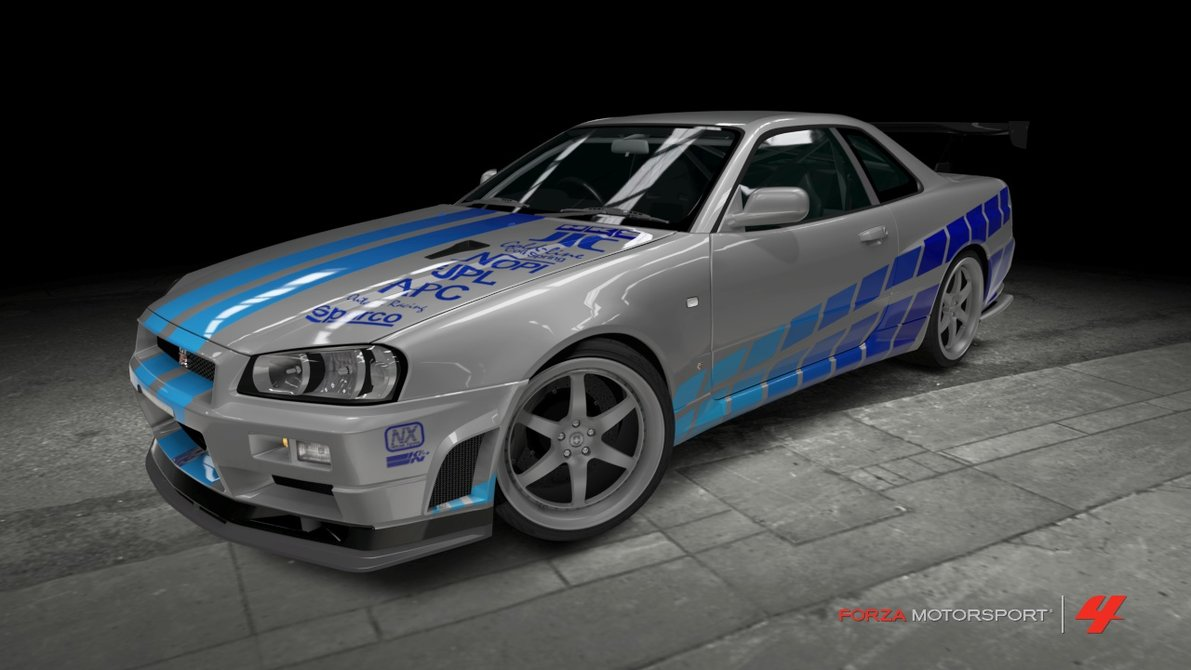 fast and furious Nissan Skyline Fast And Furious 2 Top Car Wallpaper 1191x670