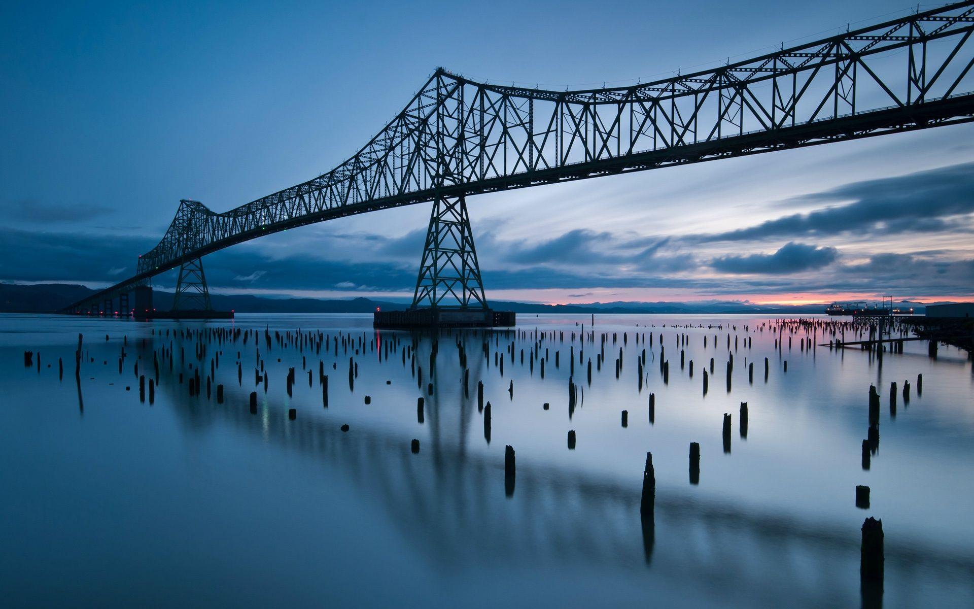 Город река мост  № 3888384 без смс