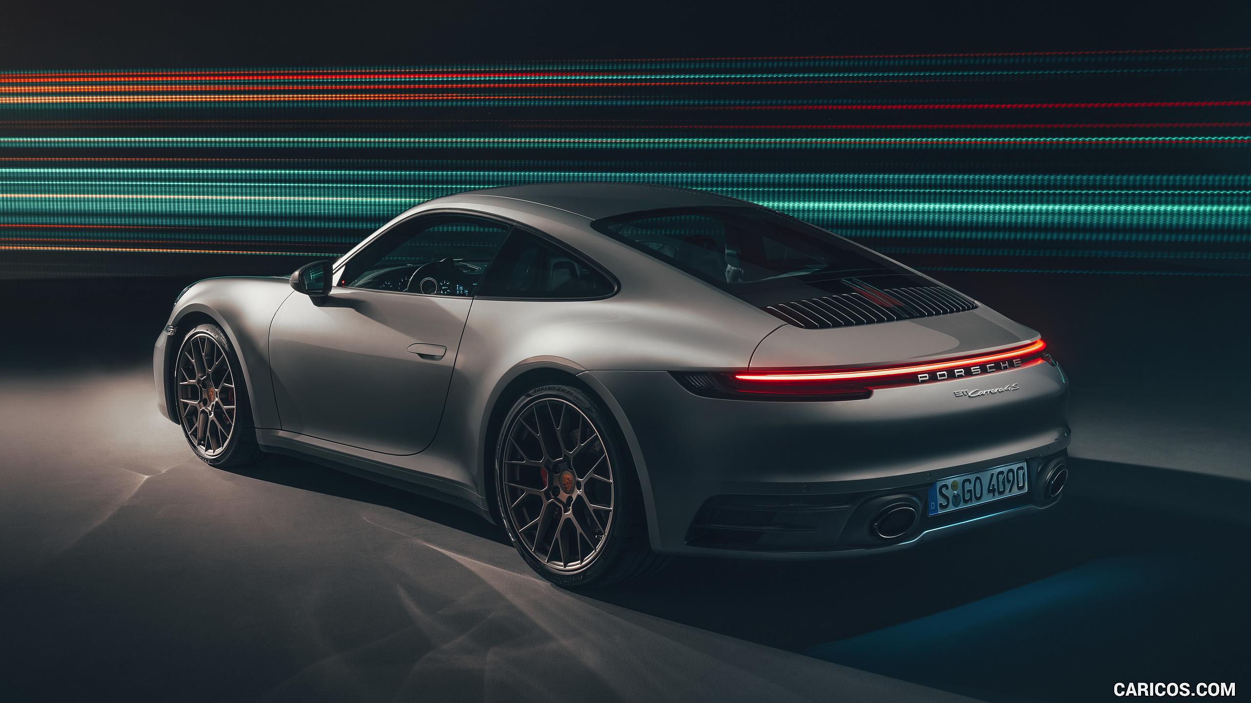 2020 Porsche 911 Carrera 4S   Rear Three Quarter HD Wallpaper 30 2560x1440
