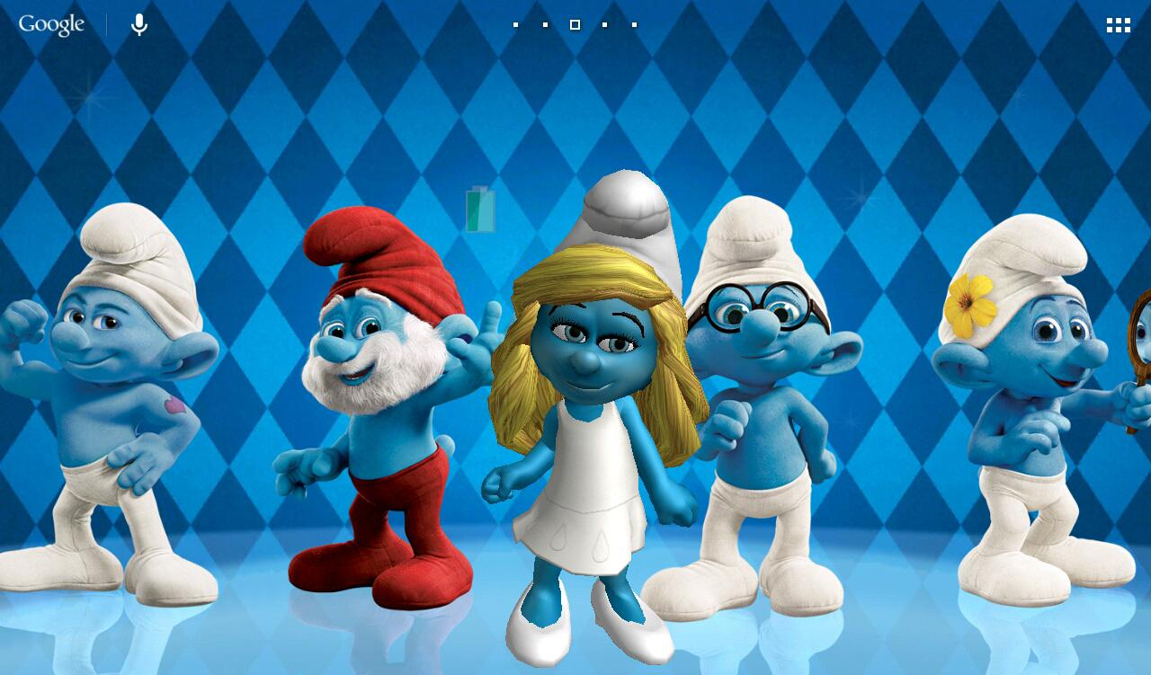 Free Download The Smurfs 2 3d Live Wallpaper Android Apps On