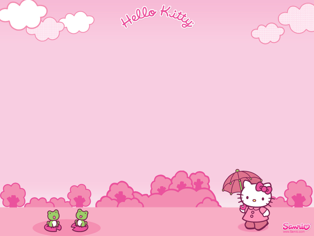 Excellent Collection of Hello Kitty Wallpapers for 1024x768