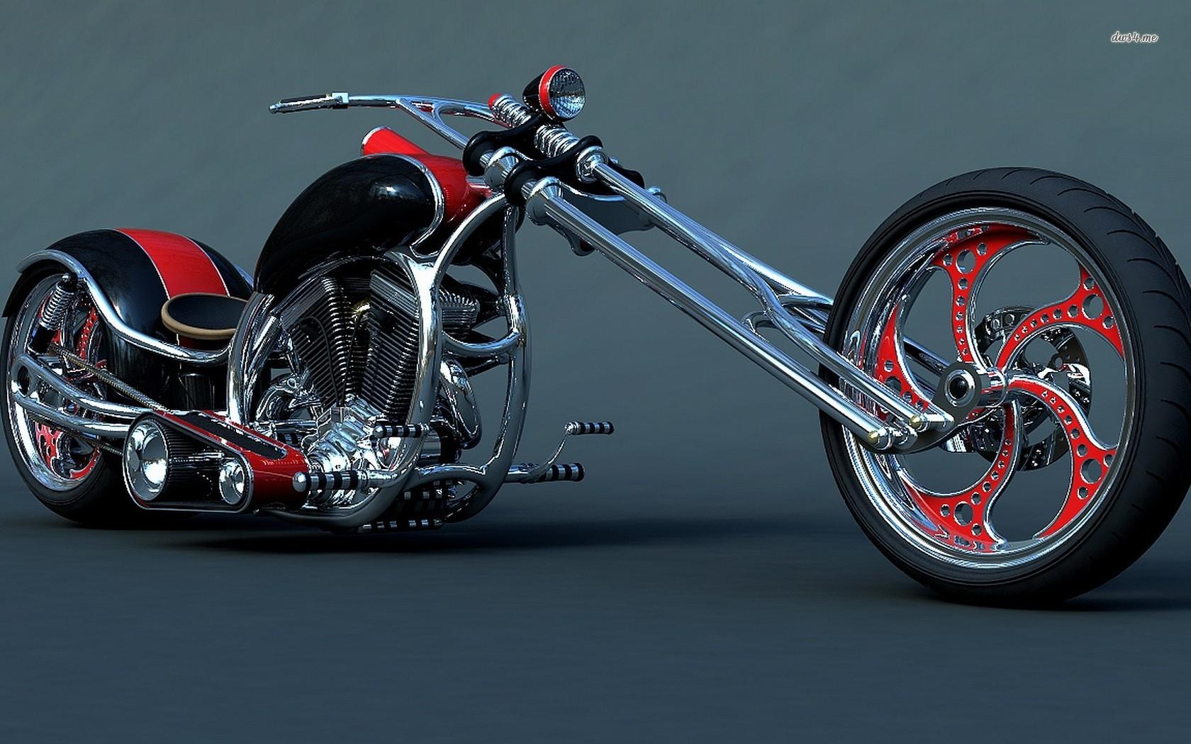 chopper wallpaper 1280x800 Custom Harley   Love Cars Motorcycles 1680x1050