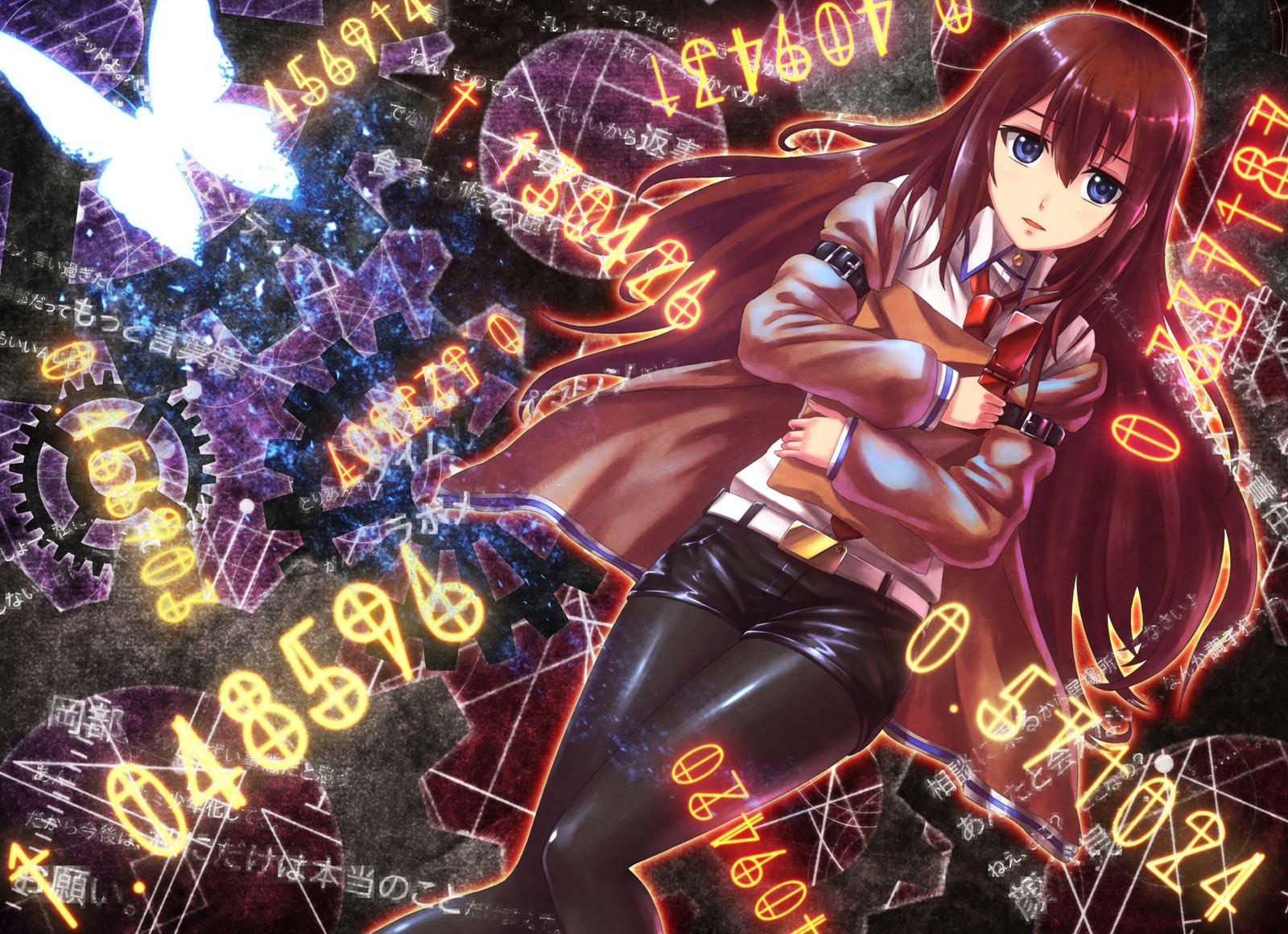Wallpapers Backgrounds   anime wallpapers makise kurisu steins gate 1600x1160
